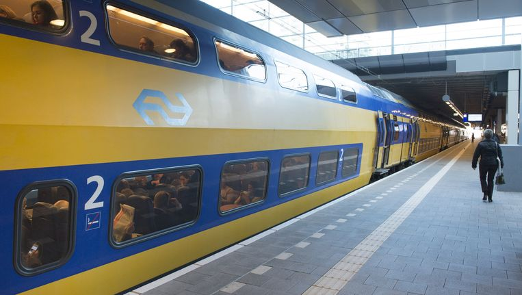 Een intercity op Den Haag centraal. Beeld ANP