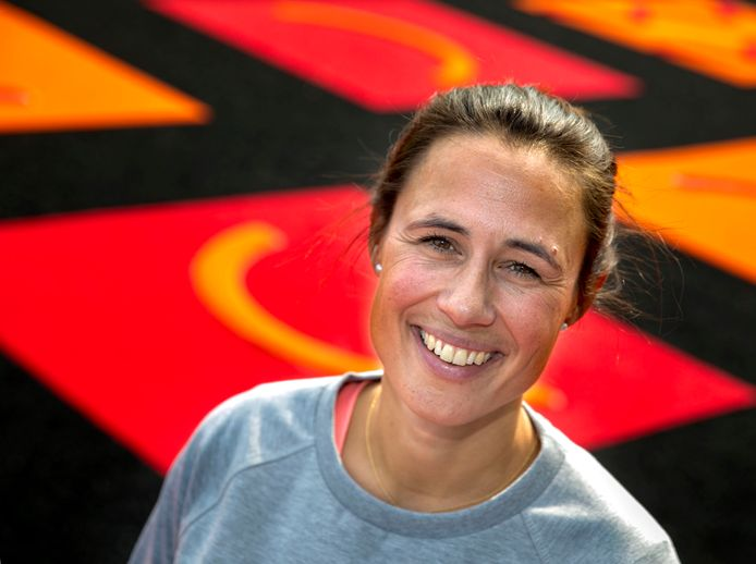 Tina Bachmann nieuwe trainer Oranje-Rood dameshockey Eindhoven.