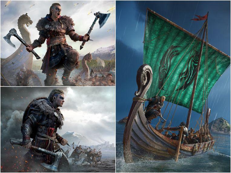 Beelden uit de game Assassin's Creed Valhalla. Beeld Ubisoft