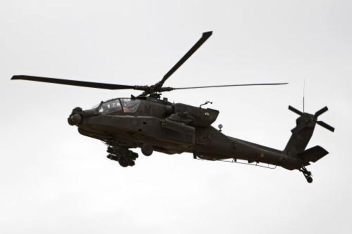 Mogelijk was het toch een legerhelikopter. Foto: ANP