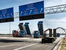 Maandag opletten geblazen voor verkeer naar Almere en Amersfoort