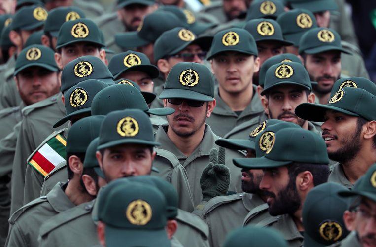 Leden van de Iraanse Revolutionaire Garde.