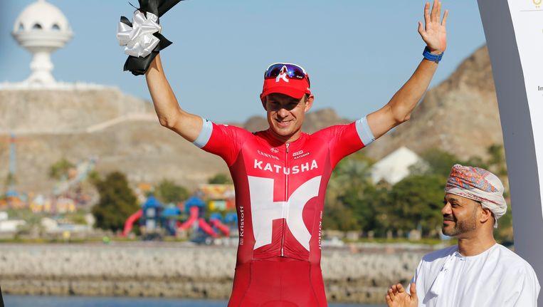 Alexander Kristoff toonde in Oman zijn goede benen. Beeld BELGA