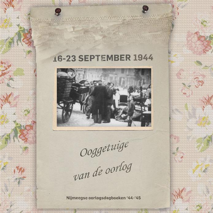 Ooggetuigen van de oorlog oorlogsdagboeken nijmegen