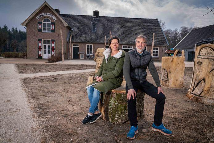 Tineke de Haas en Maarten Jansen zijn de nieuwe exploitanten van de Carolinahoeve.