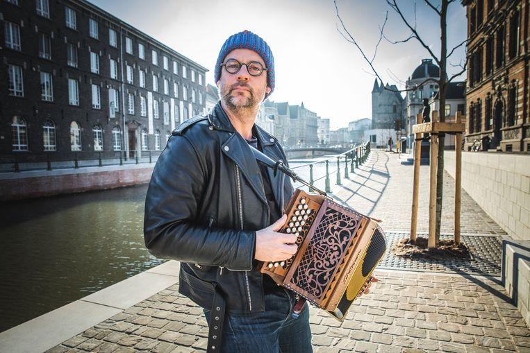 Wim Claeys aan De Reep in Gent