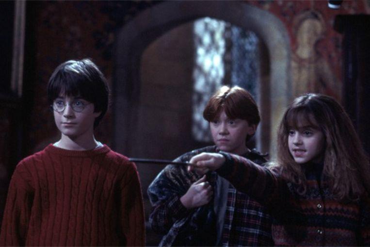 Een beeld uit de eerste film, 'Harry Potter and the Philosopher's Stone'. Beeld rv