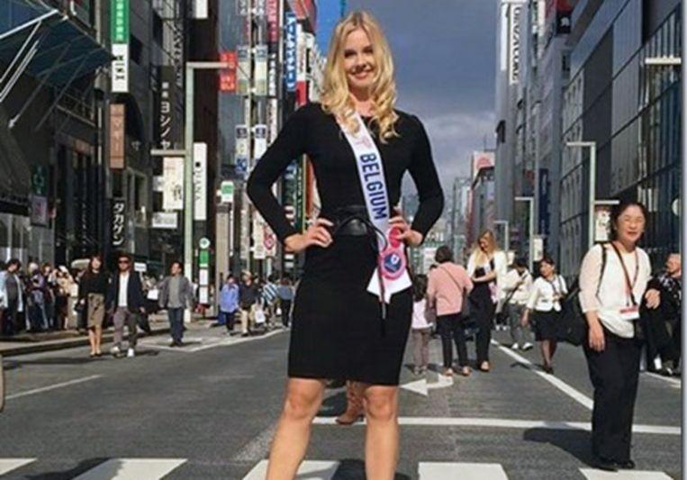 Kelly Quanten beleefde een unieke tijd in Japan maar kon de wedstrijd helaas niet winnen.