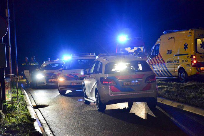 Veel politie op de been in Breda.