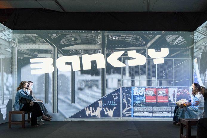 De expo blijft tot midden september in Brussel.