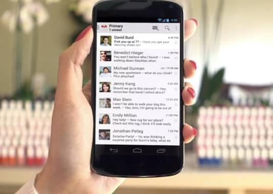 Google houdt via de GMail-app voor Android ook de locatie van de gebruikers bij.