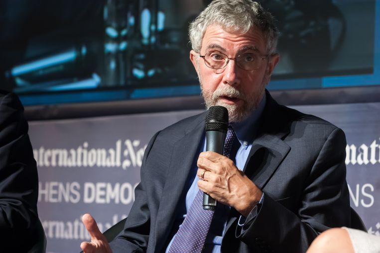 Paul Krugman. Beeld THE NEW YORK TIMES