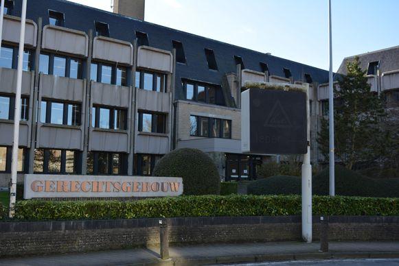 De rechtbank van Veurne, waar de aanhouding werd verlengd.