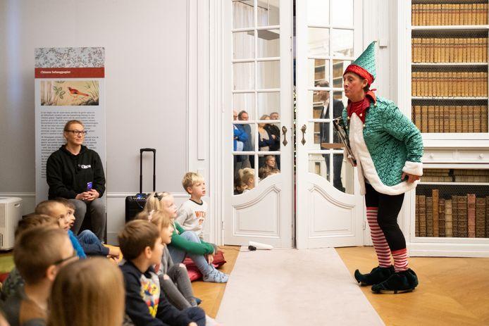 Leerlingen van de Huveneersschool genoten in 2019 van 'Kerstmagie' in Kasteel d'Ursel