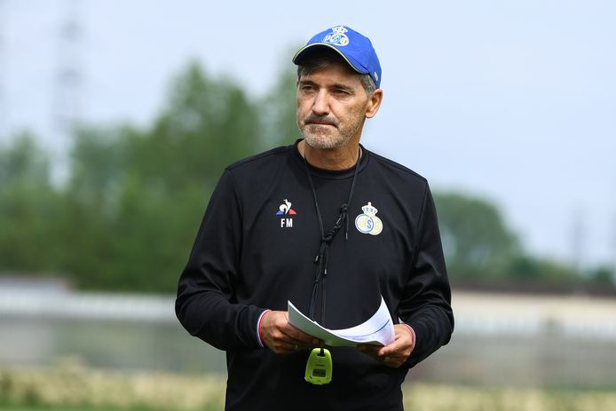Union-coach Felice Mazzu.