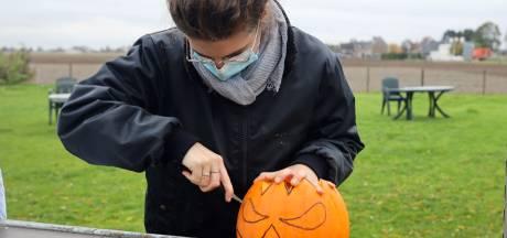 Hoe maak je zelf een Halloween-pompoen? Bij Charlotte's Pompoenen doen ze het even voor