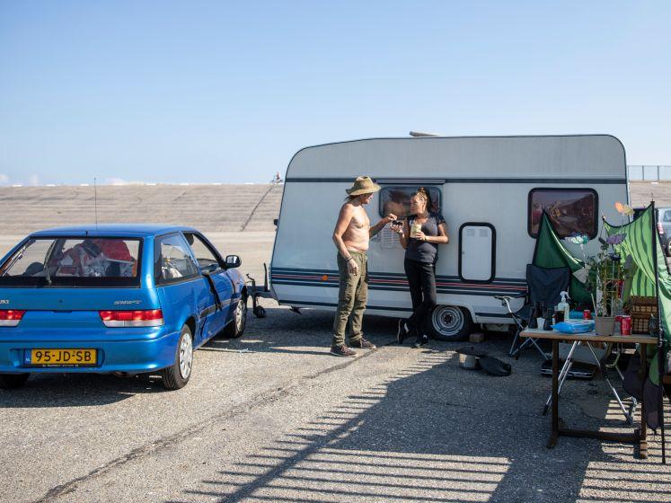 Nicole en Albert hebben een caravan, maar geen camping meer