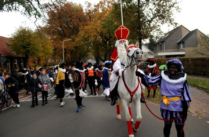 Zwarte Piet in Heelsum.