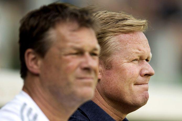Erwin (links) en Ronald Koeman.