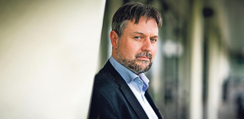 Erik Masthoff:  'We zijn geen sekswalhalla of een drugshol en het is ook niet zo dat we de hele dag zitten te niksen.' Beeld Freek van den Bergh