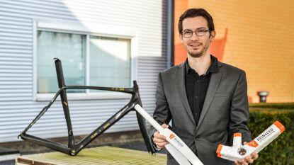 Sterk als staal, licht als een veertje: Vlaamse start-up gaat strijd aan met carbonkaders