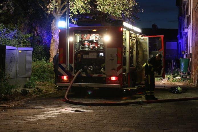 Schuurbranden in Bergen op Zoom