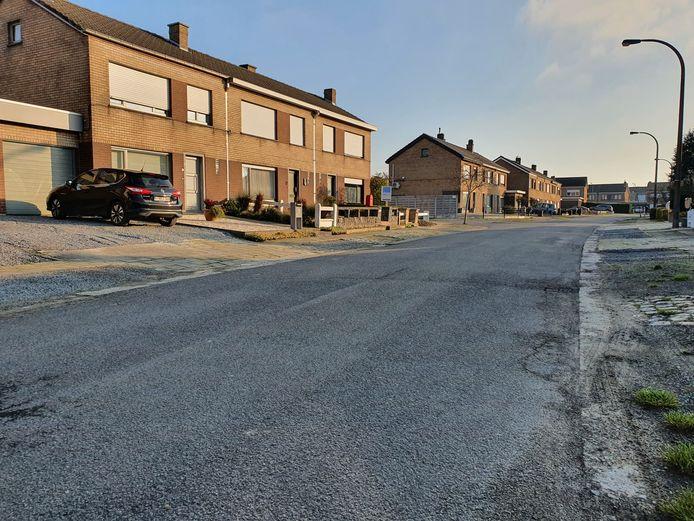 De Pontweg in Aalter is één van de slechtste straten van de gemeente.