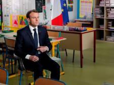 Ces détails de l'interview de Macron ont beaucoup amusé les internautes
