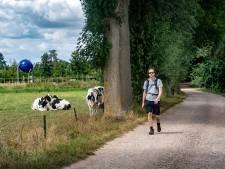 Pieterpad loopt even niet meer door Duitsland: 'Hopelijk gaat het niet lang duren'