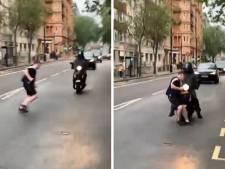 Un Écossais ivre mort percute violemment une moto et continue son chemin normalement