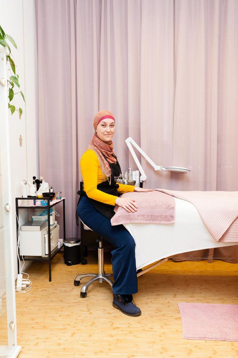 Sandy Elsaify van Experience Your Wellness. Beeld Nina Schollaardt