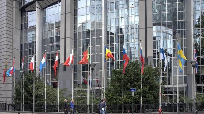 Frans protest tegen verbouwing Europees Parlement in Brussel