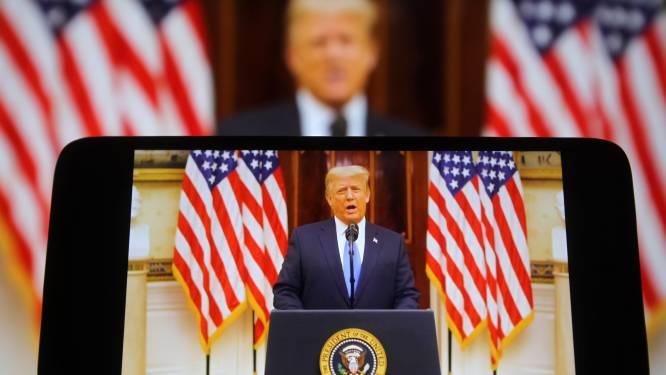 Trump krijgt zijn YouTubekanaal niet terug