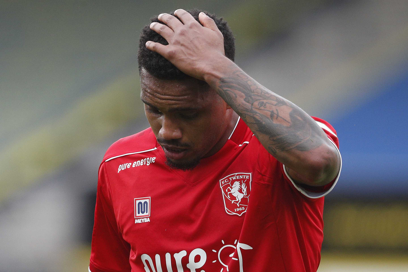 Afscheid in mineur: Danilo mist de laatste wedstrijd voor FC Twente.
