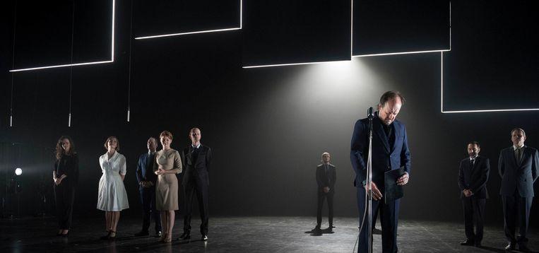 Simon De Vos geeft  'King Lear' een update. Beeld © kurt van der elst | www.kvde.