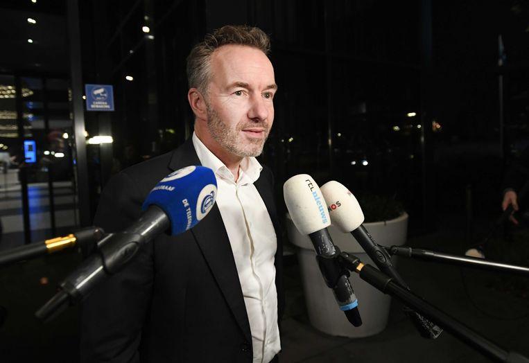 Wybren van Haga sluit zich officieel aan bij FVD.  Beeld ANP