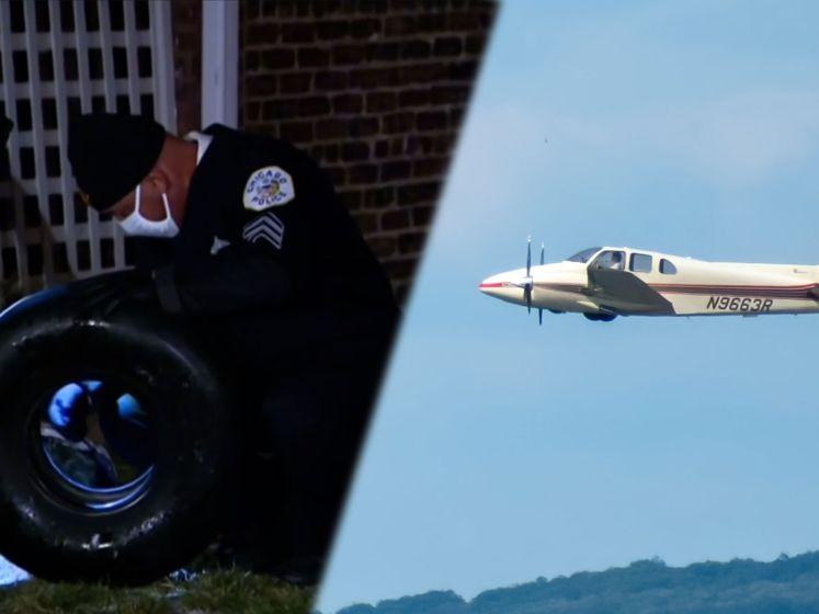 Vliegtuig verliest wiel tijdens landing