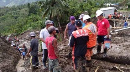 Negen doden, meer dan twintig vermisten door tyfoon op de Filipijnen