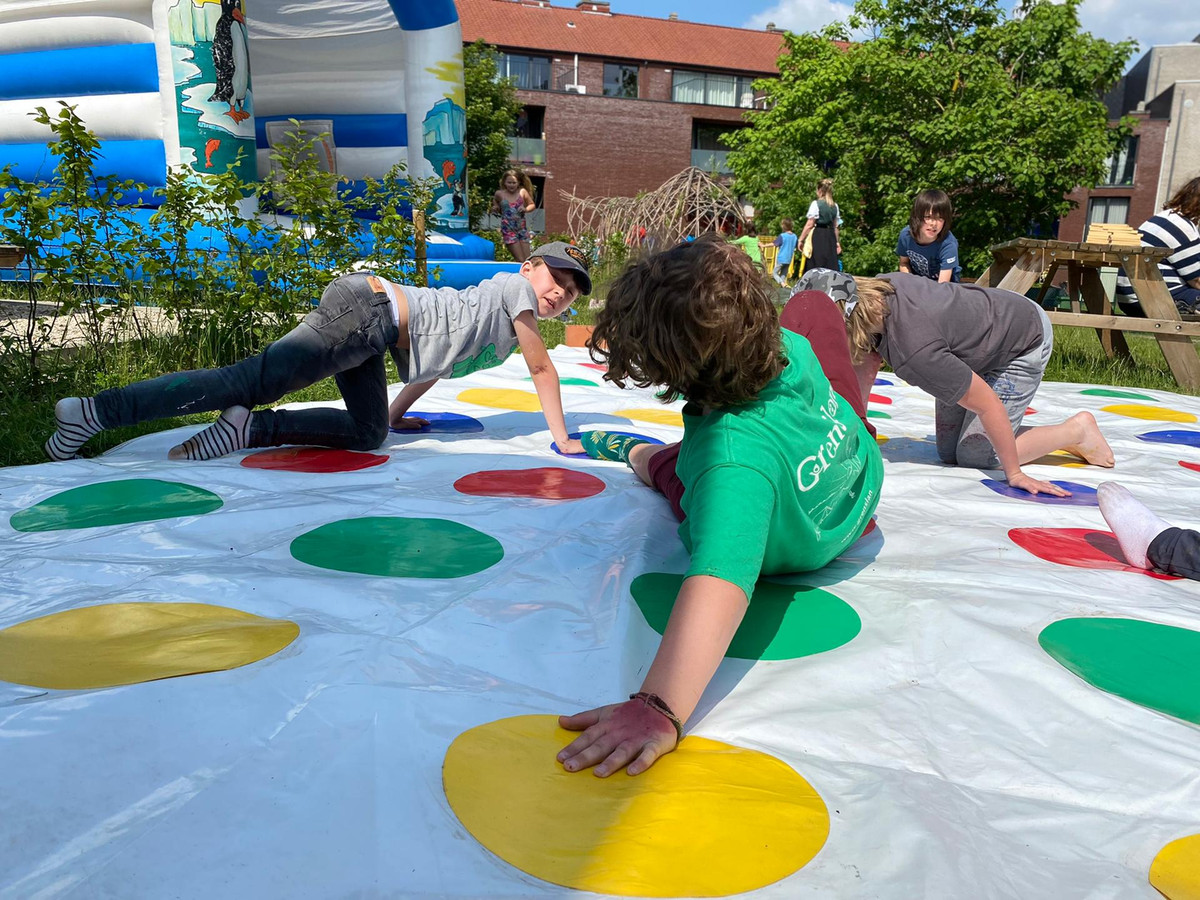 Basisschool De Kleine Okapi organiseerde een écht schoolfeest voor alle kinderen.