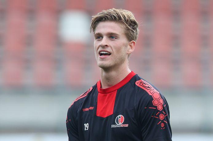 Jelle Goselink scoorde twee keer tegen VVV.