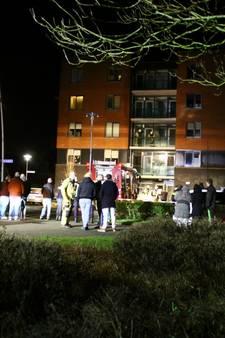 Bewoners wooncomplex in Nijkerk geëvacueerd bij brand