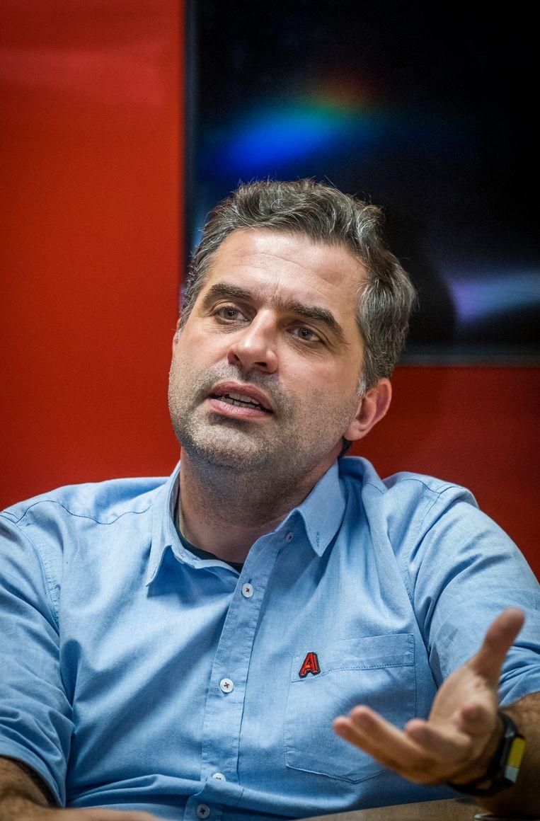 Jeroen Bronselaer, CEO van SBS. Beeld Tim Dirven