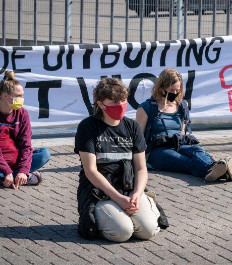 Actiegroep blokkeert de boel voor een brandhaard die er volgens Vion zélf niet is