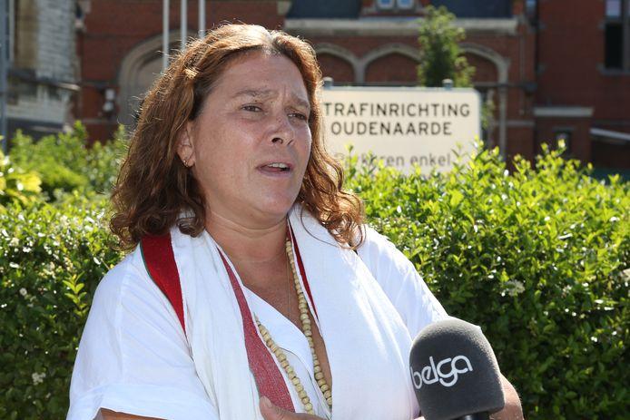 Laurence Van Bree, de mama van Luna.