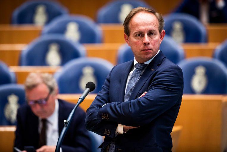 SGP-voorman Kees van der Staaij.  Beeld Freek van den Bergh/de Volkskrant