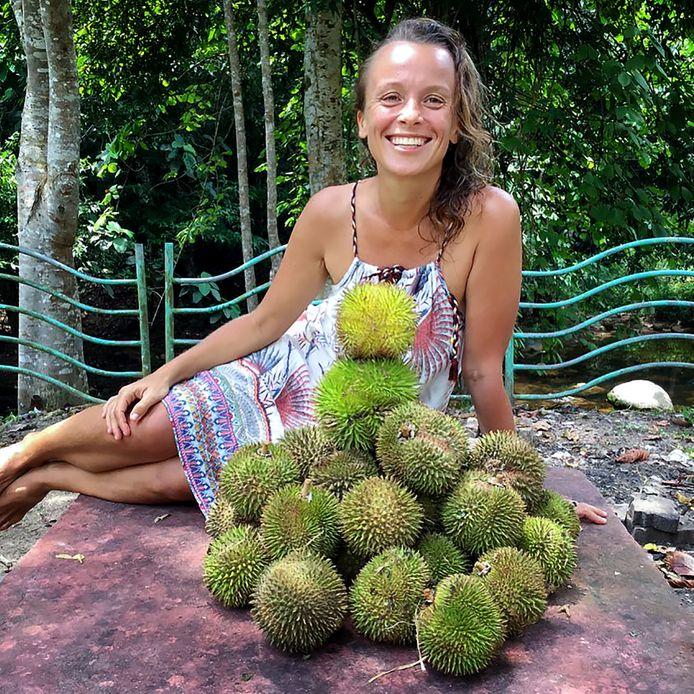 De Poolse Tina Stokolska (39) eet al drie jaar lang niets anders dan fruit.