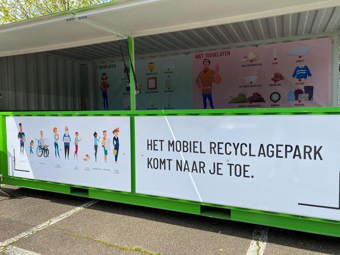 Hasselt krijgt mobiel recyclagepark