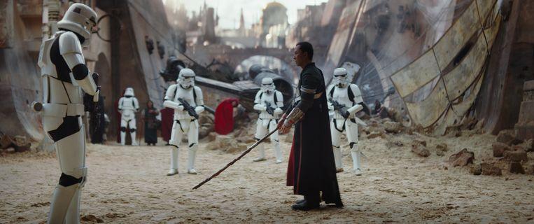 De eerste film die vanaf woensdag in de heropende Kinepolis-zaal te zien zal zijn, is 'Rogue One: A Star Wars Story'. Beeld rv