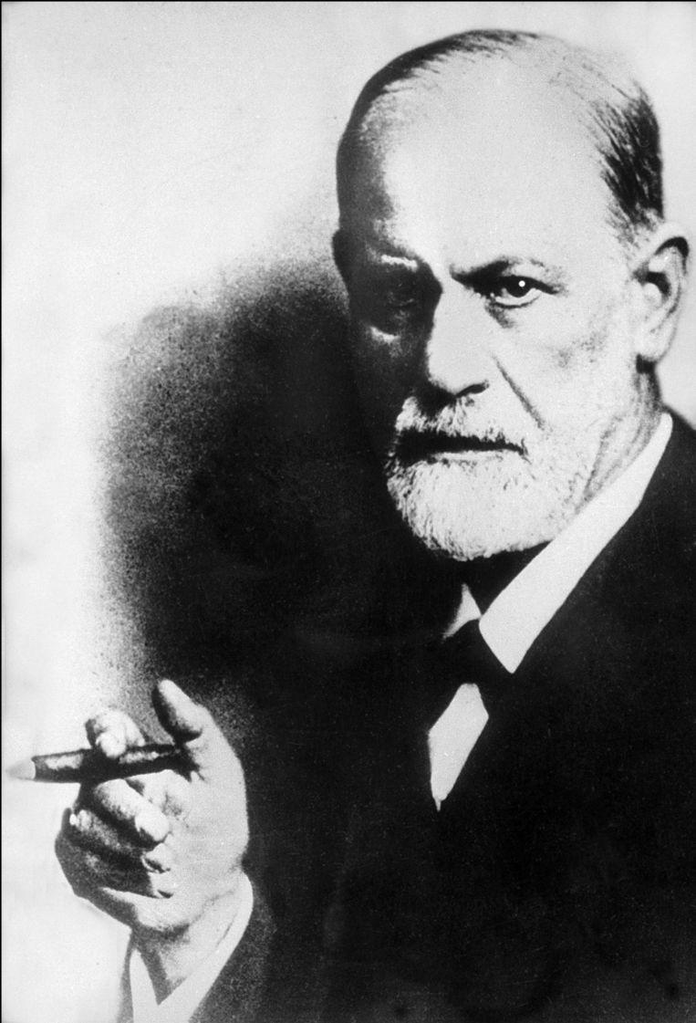 Freud begon elke dag met een barbier die aan huis kwam om zijn baard te trimmen. Beeld PHOTO_NEWS
