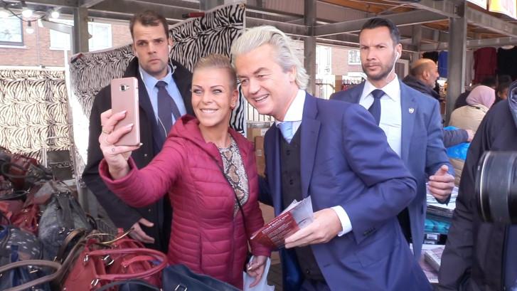 Geert Wilders trapt campagne af in 'hol van de leeuw'